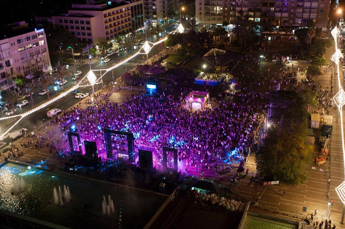 Radio Tel Aviv Just Powered The Biggest Headphones Party Ever with Their Nobex Partners App!